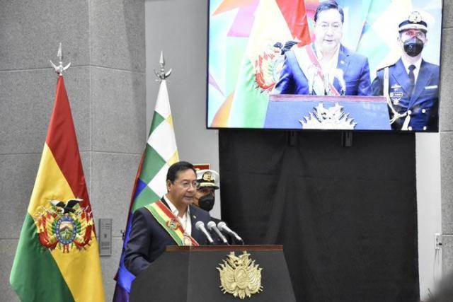 Arce afirma que nunca se pudo probar el supuesto fraude del 2019 y reitera  que en Bolivia hubo un golpe de Estado | Oxígeno Digital